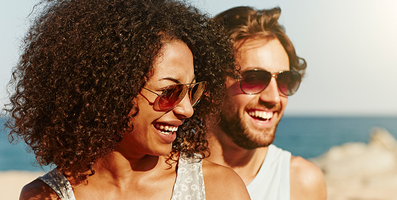 How the sun can be great for your smile